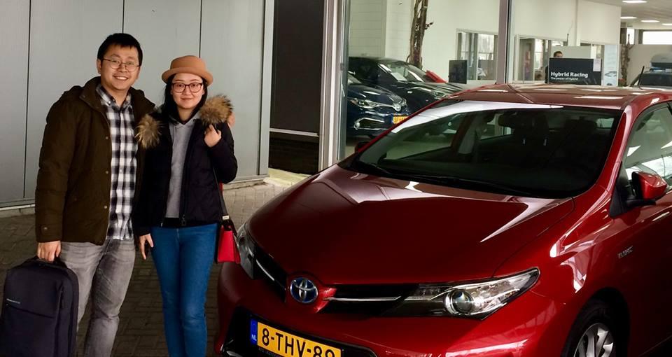 Toyota Auris hybride aankoop