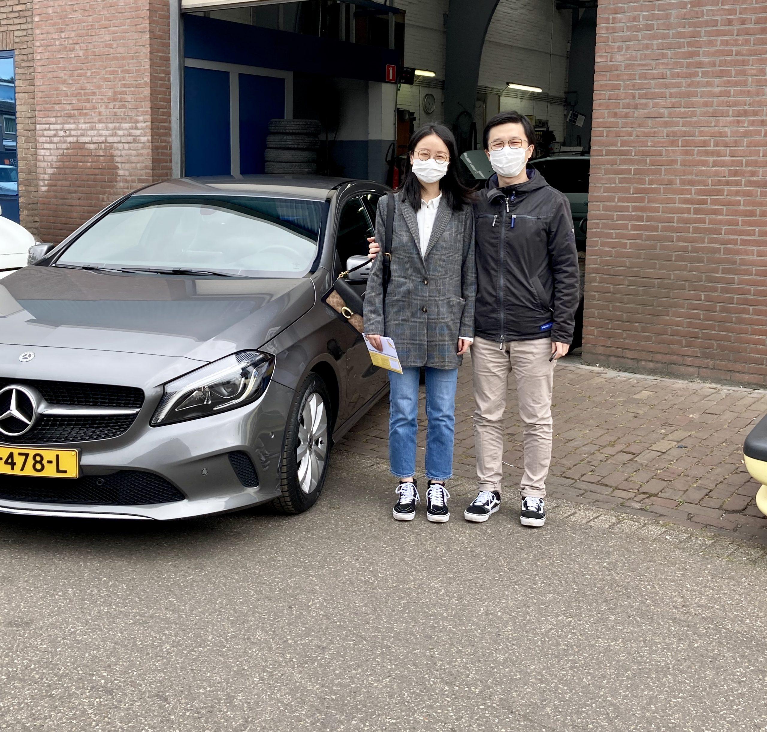 Mercedes A180 aankoop
